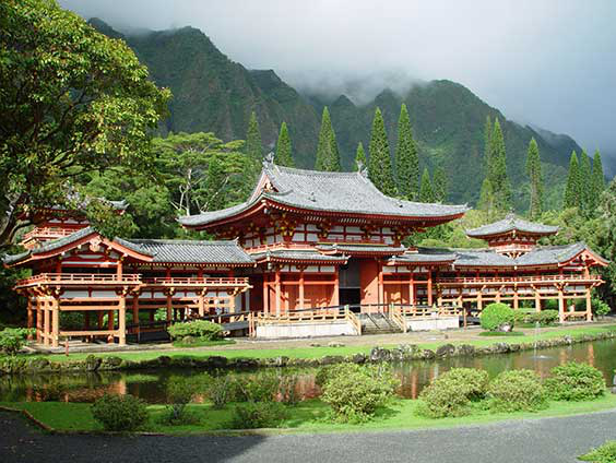 Byodo-In at the Valley of the Temples Memorial Park