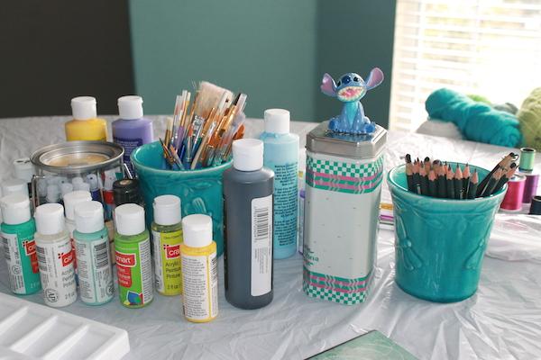 2. Craft Day Set Up (Stitch)